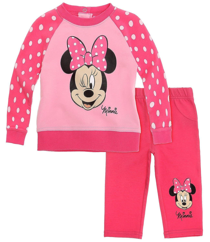 Disney Minnie Babies Traje de jogging - fucsia: Amazon.es: Ropa y ...