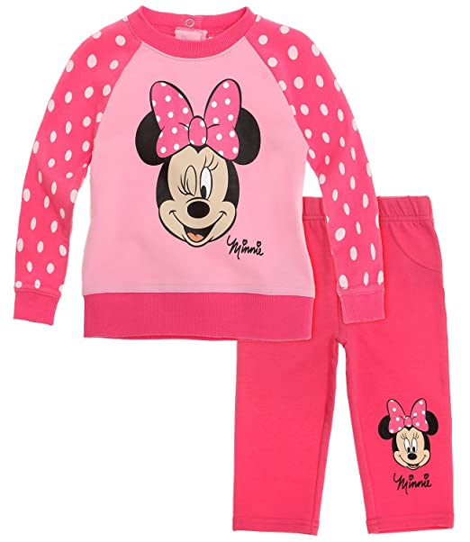 Disney Minnie Babies Traje de jogging - fucsia: Amazon.es ...