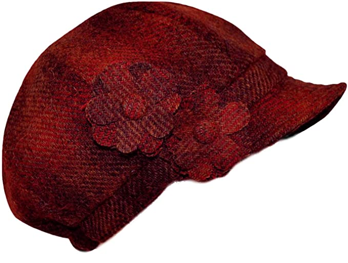 d32575e0e7f Harris Tweed Ladies 100% Gemma Hat Made in Scotland Available in 6 Colours  New (