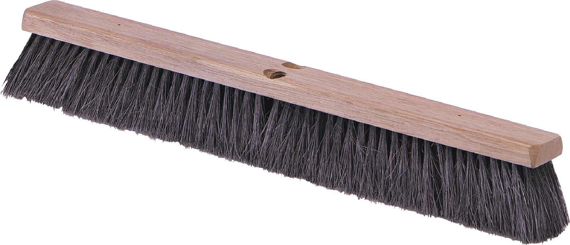 Carlisle 4505103 Flo-Pac Fine/Medium Floor Sweep, Tampico Bristles, 14'' Block Size, 3'' Bristle Trim, Black by Carlisle