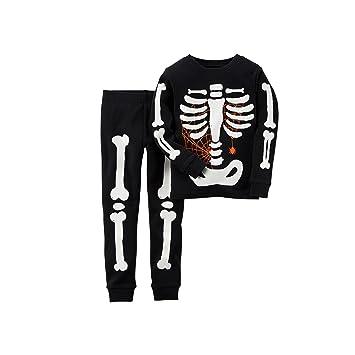 Amazon.com: Carter's Little Boys' Glow-in-the-dark Halloween ...