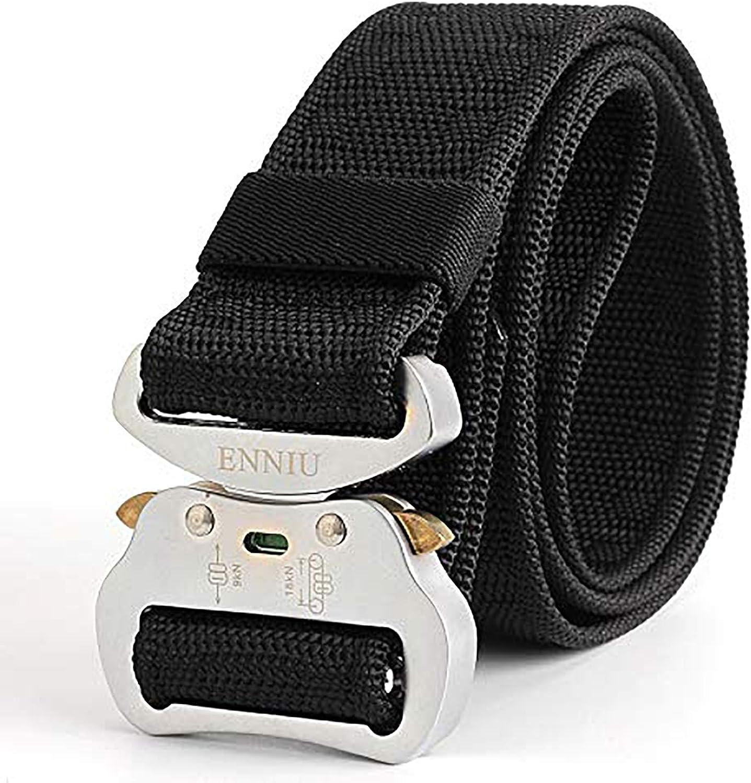 fenghglo8 Male military fans belt belt Lvkou multifunction nylon belt belt belt Outdoor Training