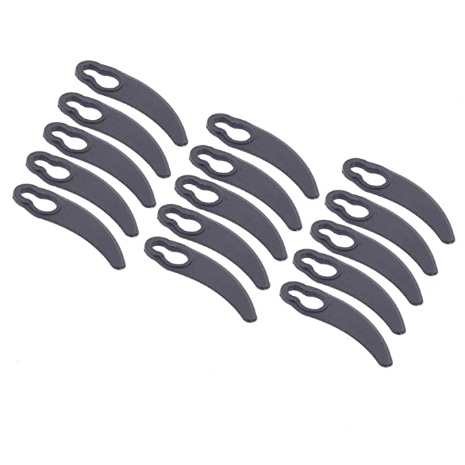 First4spares Premium Grade Plastic Lawnmower Blades for Challenge /& Challenge Xtreme Lawnmowers Pack of 15