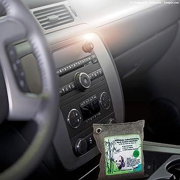 Auto Geruchsentferner 500g Natürlicher Lufterfrischer Fürs Auto Wohnmobil Camper Mit Bambus Aktivkohle Drogerie Körperpflege