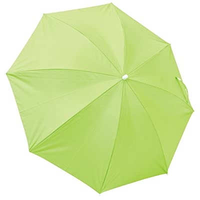 Nantucket Breeze Clamp on Beach Chair Clamp Umbrella- 4' - Lime: Sports & Outdoors