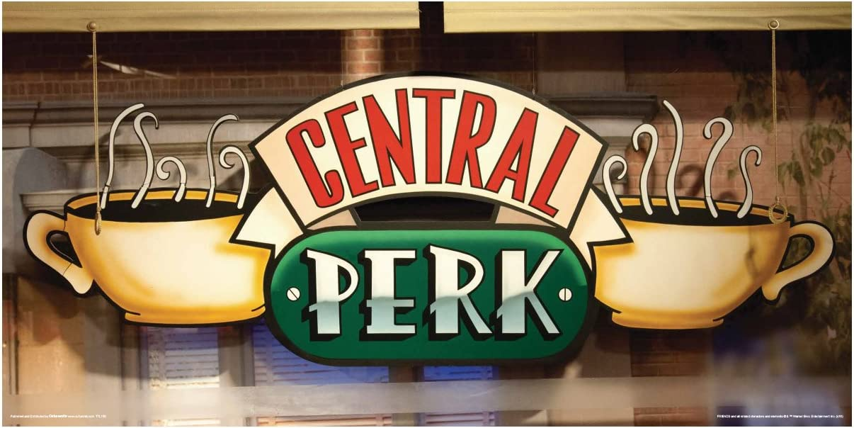 Central Perk Logo Image / Central perk was a fictional ...