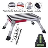 Homeon Wheels Safety RV Steps Adjustable Height