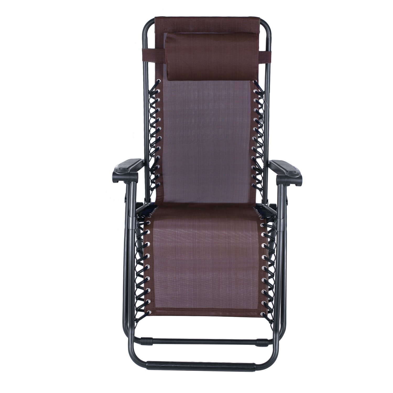 Amazon Adeco Outdoor Folding & Reclining Zero Gravity Chair