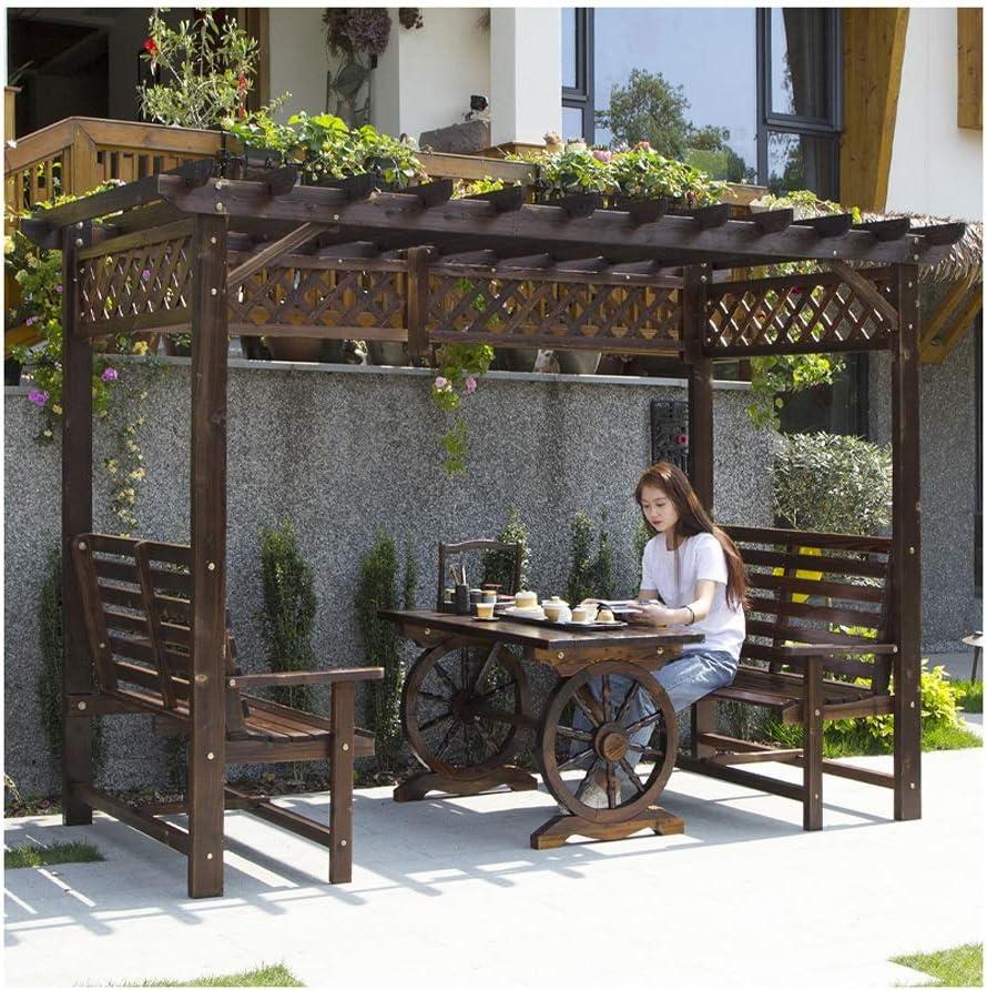 Gazebo de muebles de jardín Gazebos for patios, madera uva ...