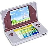 Housse étui protection silicone pour Nintendo DSi XL DSiLL - Anti choc / rayures - Blanc
