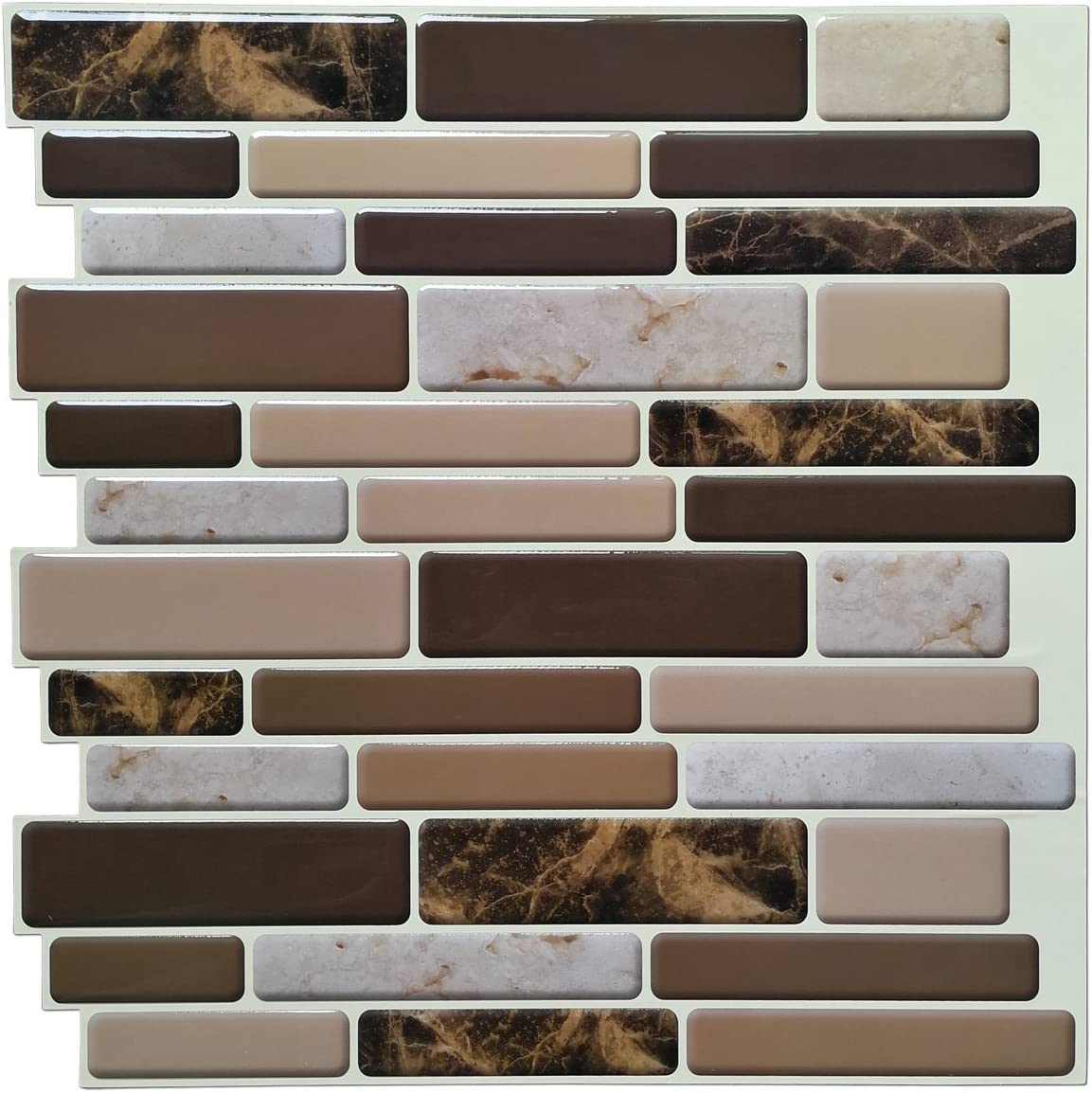 - Amazon.com: Art3d Kitchen Backsplash Tiles Peel And Stick Wall