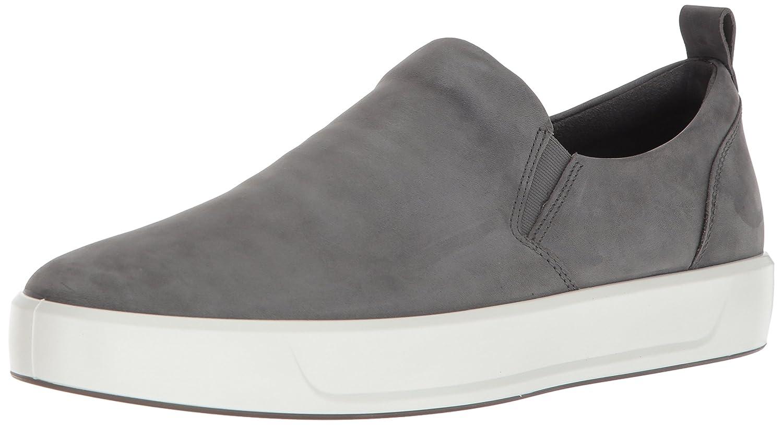 ECCO Men's Soft 8 Slip on Fashion Sneaker 45 M EU (11-11.5 US)|Dark Shadow