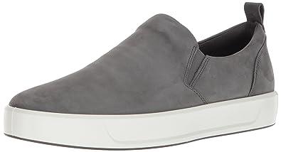 Mens Soft 8 Low-Top Sneakers, Brown Ecco