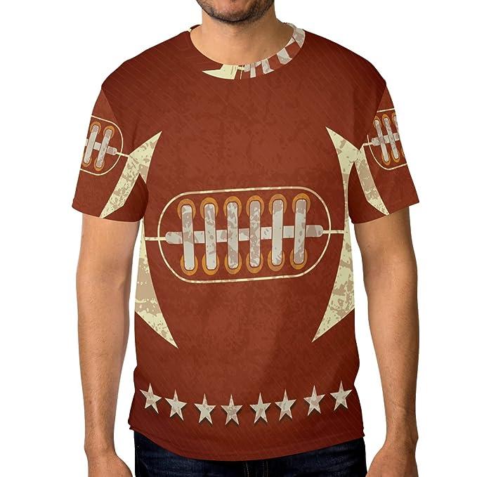 COOSUN s menâ manga de fútbol americano camisetas cortas: Amazon.es: Ropa y accesorios
