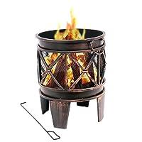 Feuerstelle kupfer klein Fire Pit ✔ rund