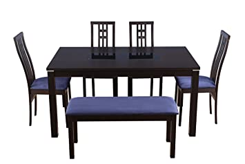 HomeTown Daiton Six Seater Dining Set with Bench