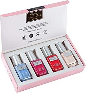product image for Karma Organic Beautiful Natural Nail Polish Set- Non-Toxic Nail Art, Vegan and Cruelty-Free Nail Paint