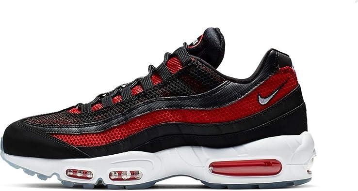 Nike AIR MAX 95 Trainers Men Black/Red