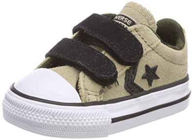 eeef6d169831 Converse Unisex Kids  Lifestyle Star Player Ev 2v Ox Suede Fitness Shoes