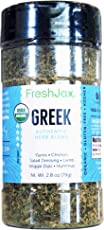 FreshJax Gourmet Organic Spice Blends (Greek Seasoning)