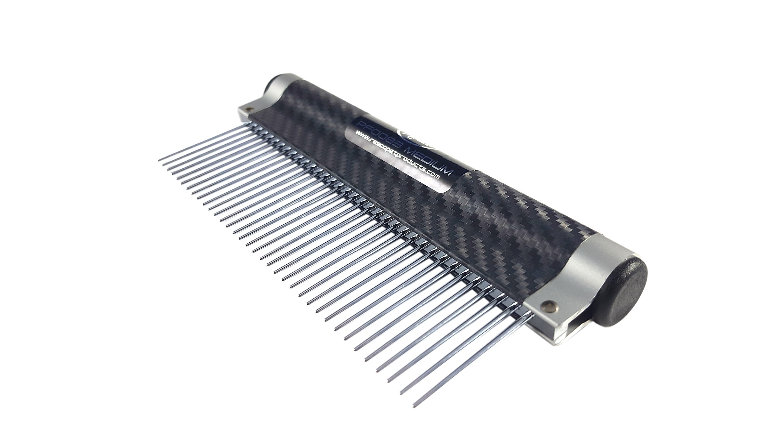 Resco USA-Made Wrap Comb for Pets, Medium, Carbon Fiber by Resco (Image #2)