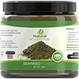 Seaweed Powder - Certified Pure 100% HIGH QUALITY Natural Atlantic Kelp Powder - Freshly Harvested Norwegian Ascophyllum Nodosum (Kelp) - Kosher Certified - Reduces Fat Cell (Cellulite) Appearance - Satisfaction Guaranteed