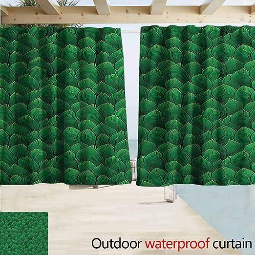 Cortina de Puerta corredera con Tallos de bambú Verde Nature ...