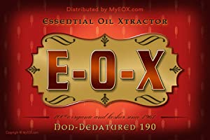 1-Gallon 190 Proof E-O-X BY X-F-B Ask Anyone They'll Tell You They're The PUREST XTRACTORS ON The Planet - Always 100% Organic & Hand Crafted to Perfection
