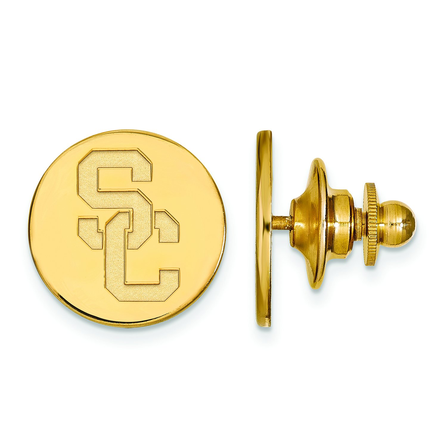4Y010USC 14K Yellow Gold University of Southern California Tie Tac by LogoArt