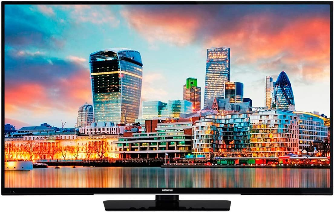 Hitachi 43hk4w64 Televisor 43 LCD Direct Led Uhd 4k 1200hz Smart TV WiFi Bluetooth LAN Hdmi USB Reproductor Multimedia: Amazon.es: Electrónica