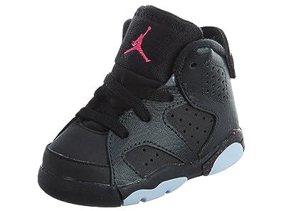 new product 91238 7e761 Jordan Jordan645127-008 6 Retro Gt Baby Jungen, (Anthracite Black-Black