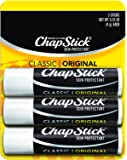 ChapStick Classic Original Lip Balm SPF 4 0.15 oz, 3 ea