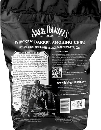 RUMO Barbeque Jack DanielS Whisky Chips de Incienso – Barbacoa ...