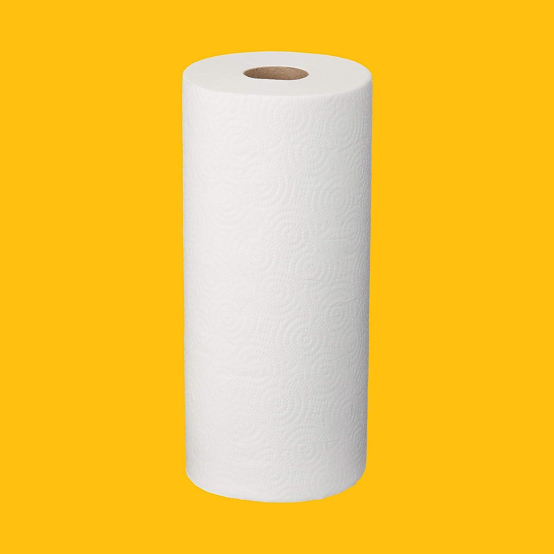 AmazonCommercial Essentials Kitchen Paper Towels, 250 Towels per Roll, 12 Rolls