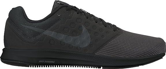 Amazon.com   Nike Mens Nike Downshifter 7 Running Shoe - Couleurs :  Black/Mtlc Hematite-Anthracite, US Men Sizes : 6   Road Running