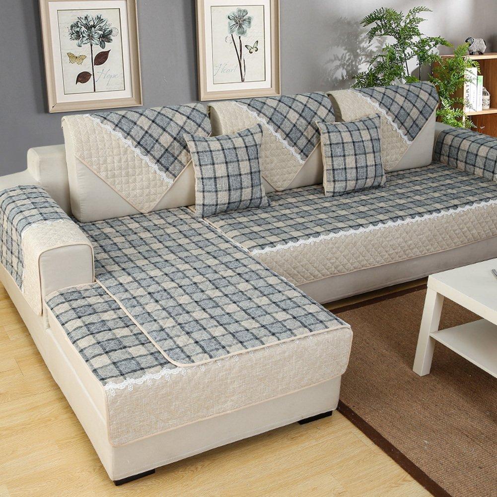 Weiwei Sofaüberzug für Sofakissen, 4 Jahreszeiten, einfach, einfach, einfach, Rutschfest, für Wohnzimmer und Sofa, J, 70cm150cm B0793SW996 Kopfkissenbezüge 6fffd2