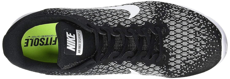 Nike 852465 002 Air Max Sequent 2 Laufschuhe Schwarz 40.5