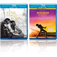 A Star Is Born & Bohemian Rhapsody (Blu-ray + DVD) (4-Disc)