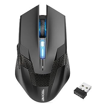 1e66a705c20 TeckNet RAPTOR 4800DPI 2.4G wireless gaming mouse Professional Cordless  Gaming Mice,5 DPI Adjustment