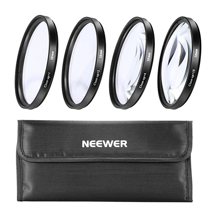 Review Neewer 58MM Macro Close-Up