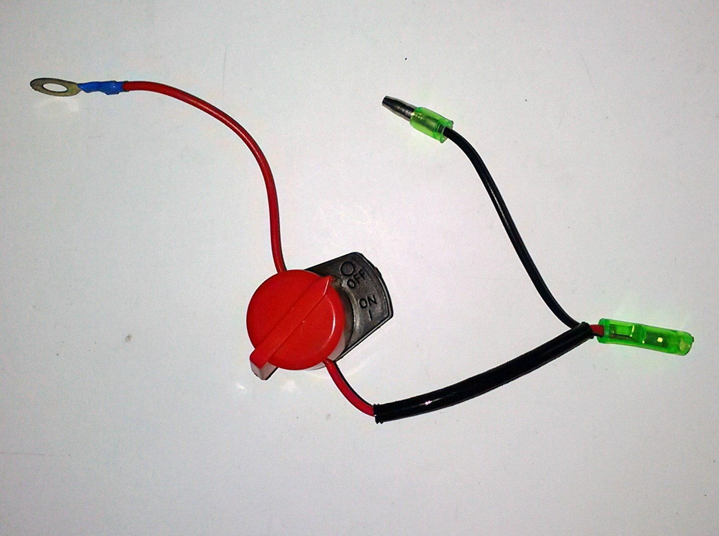 Gx390 Kill Switch Wiring Reinvent Your Diagram Car Battery Amazon Com On Off Engine Stop Fits Honda Gx120 Gx160 Rh Small