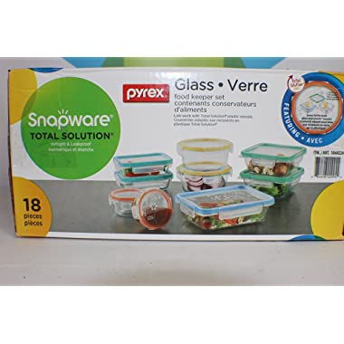 Snapware Total Solutions 18 piece Glass Containers