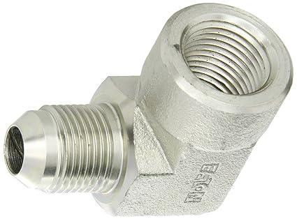 End Size Carbon Steel m Eaton Aeroquip 2041-8-8S Bulkhead Union 3//4 JIC 1//2 Tube OD JIC 37/° End Types
