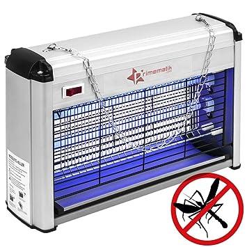 Mosquitos 16 y Lámpara eléctrico y Moscas W voladores Mata Matamoscas Insectos PrimeMatik vN0wm8n