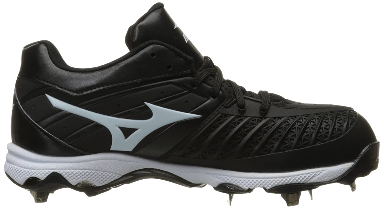Mizuno Women's 9-Spike Shoe Advanced Sweep 3 Softball Shoe 9-Spike B01JS47VLE 6 D US Black/White dbeee3