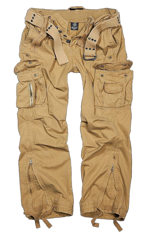 Brandit Men's Royal Vintage Trousers Beige