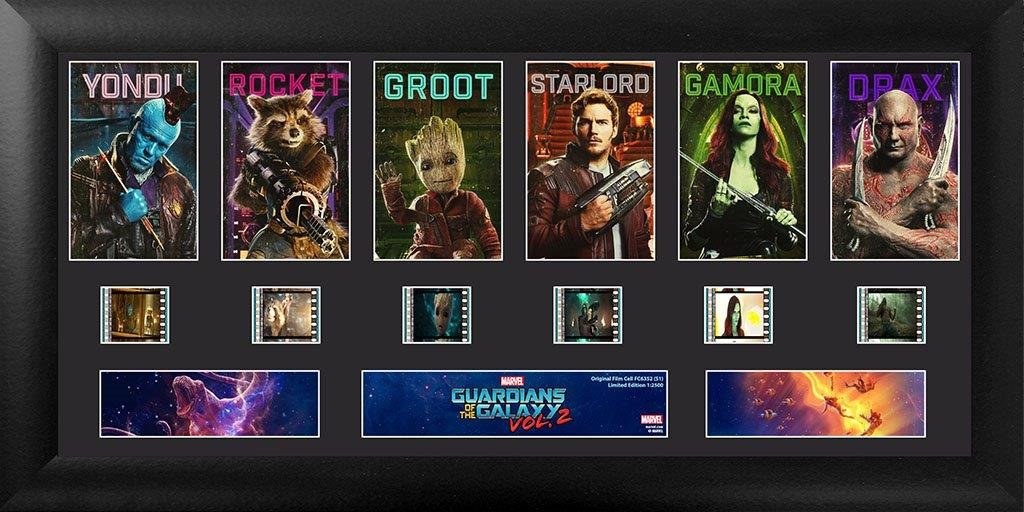 Deluxe S1 FilmCells Trendsetters USFC6352 Marvels Guardians of the Galaxy Vol 2