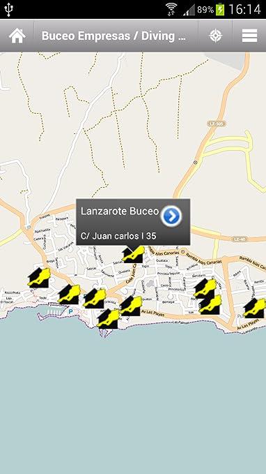 Amazon.com: Lanzarote Routes Offline: Appstore para Android