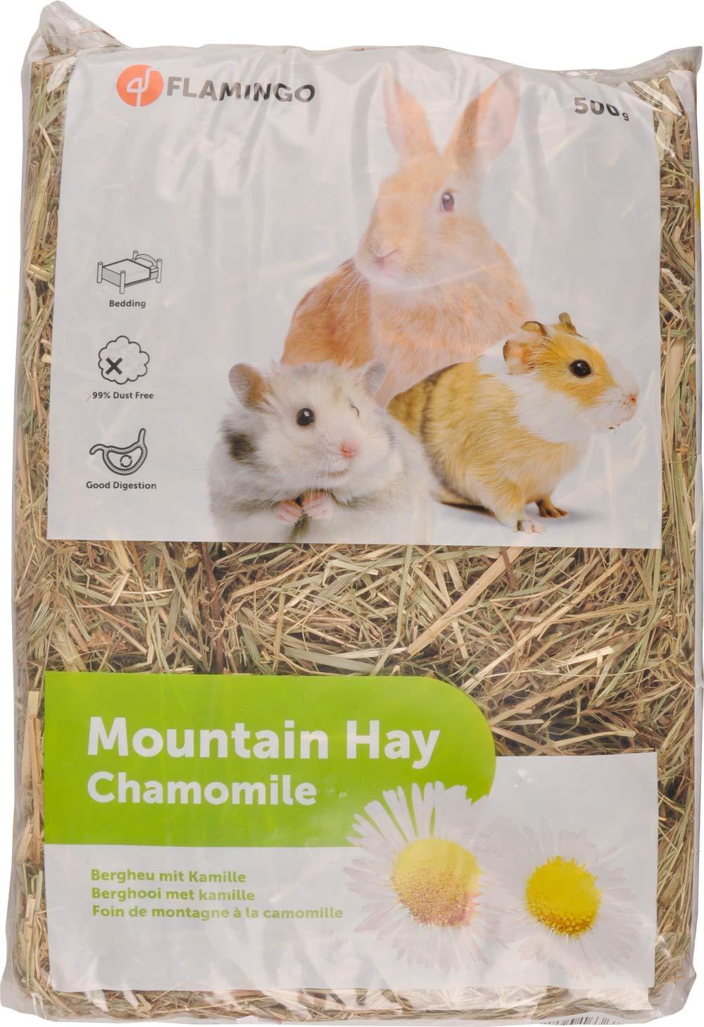 Snack pour rongeurs Foin de Montagne avec Camomille 500g # 201648 Karlie Flamingo 103016