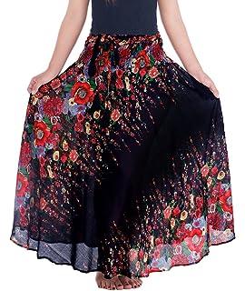 9db93b7e71 Lannaclothesdesign Women's Long Maxi Skirt Bohemian Gypsy Hippie Style  Clothing